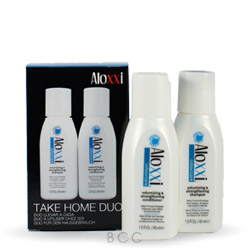 Aloxxi ColourCare Volumizing & Strengthening Take Home Duo