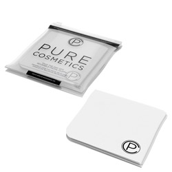 Pure Cosmetics Take the Day Off Reusable Facial Cloth 1 piece Take off your makeup in a swipe with the Take the Day Off Reusable Facial Cloth. A super-soft, re-usable cleansing cloth that removes all traces of makeup and impurities from your face to keep it clean and sanitized. Rigid when dry, soft when wet and works on all skin types. Great for at home and travel use.