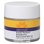 Derma E Evenly Radiant Day Creme with SPF 15