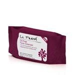 La Fresh Scented Oil-Free Face Cleanser Wipes Resealable Pouch