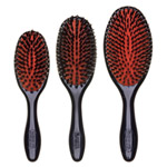Denman Grooming Brush - Natural Bristle Nylon - (D81S) Small