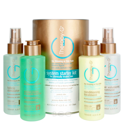 Therapy G 45 Day Starter Kit for Chemically Treated Hair 4 piece