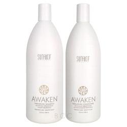 Surface Awaken Therapeutic Liter Shampoo/Conditioner Set 2 piece