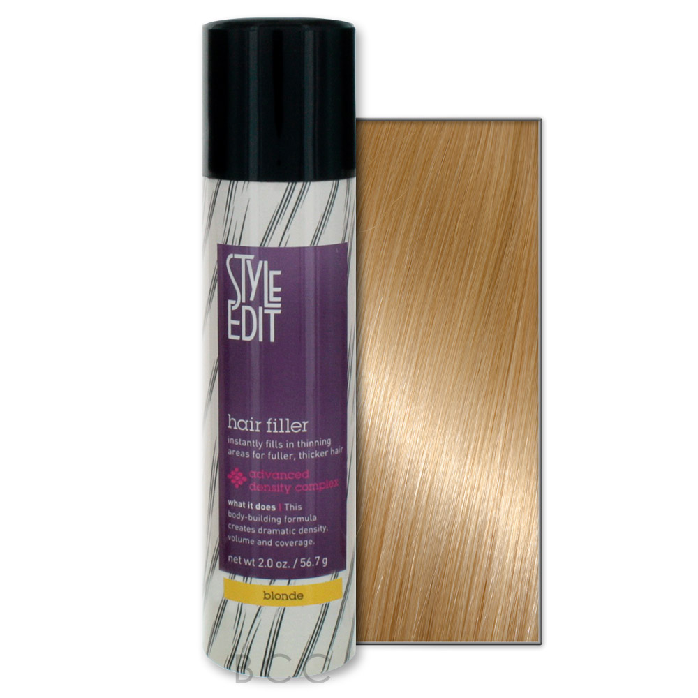Style Edit hair filler is a convenient onestep aerosol spray