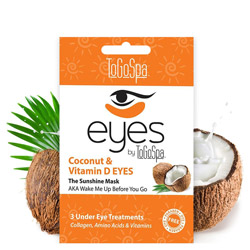 ToGoSpa Coconut EYES by ToGoSpa - Under Eye Collagen Gel Masks