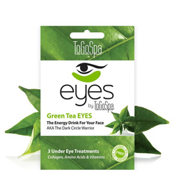 ToGoSpa Green Tea EYES by ToGoSpa - Under Eye Collagen Gel Masks