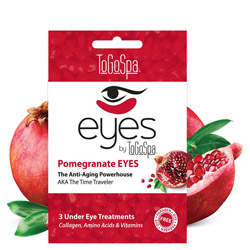 ToGoSpa Pomegranate EYES by ToGoSpa - Under Eye Collagen Gel Masks