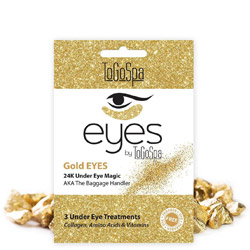 ToGoSpa Gold Eyes 24K Magic AKA Bling