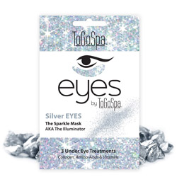 ToGoSpa Silver Eyes The Sparkle Mask