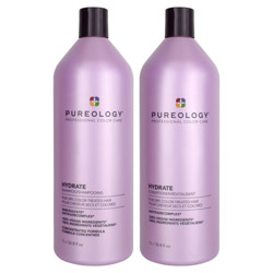 Pureology Hydrate Shampoo & Conditioner Liter Duo *Limited Edition*