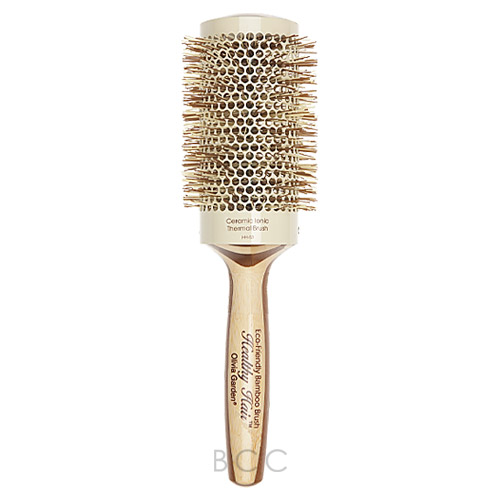Olivia Garden Healthy Hair Eco Friendly Bamboo Ceramic Ionic Thermal Brush Inches Hh