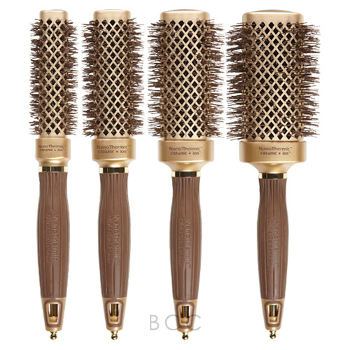 Olivia Garden Nanothermic Square Shaper Brush Collection Beauty Care Choices