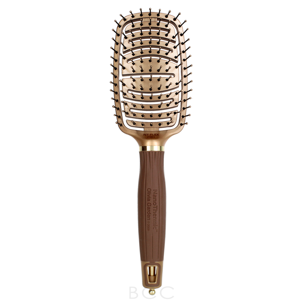Olivia Garden Nanothermic Ceramic Ion Flex Brush Pro Nt Flexpro Beauty Care Choices