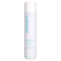 Design Me Quickie.ME Dry Shampoo Spray Blonde and Pastel Tones Here's a little something for those blonde and pastel toned bombshells out there. A dry shampoo made specifically for them! This dry shampoo is formulated with a unique rice starch formula that absorbs, lifts and styles hair without the need of water. Cleans and refreshes the hair when you're in a hurry and prevents static and build-up in the hair. Maintains the natural look of your hair tone so you won't have to worry about any residue left behind.