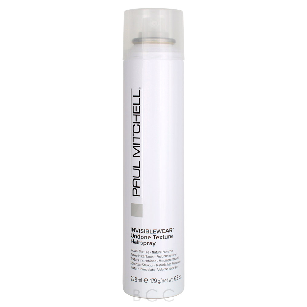 paul mitchell invisiblewear undone texture hairspray beauty care choices. Black Bedroom Furniture Sets. Home Design Ideas