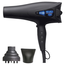 Paul Mitchell Neuro Dry Hair Dryer 1 piece Speed, Endurance, And Great Performance. Dry your hair quickly and efficiently with Paul Mitchell's Neuro Dry blow dryer. With its SmartSense filter, it helps to prolong the life of your tool. Its tourmaline ions help to reduce drying time quickly but gently.