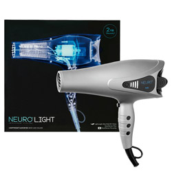 Paul Mitchell Neuro Light Lightweight Hair Dryer 1 piece Get The Perfect Blow-Out. Blow-dry, style, and go big with the Neuro Light Lightweight Hair Dryer. Its tourmaline Ions help to reduce frizz and add a brilliant shine to your hair. Comes with a collapsable silicone diffuser that fits most universal dryers and a concentrator nozzle for precise airflow and styling control.