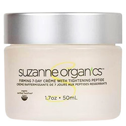 SUZANNE Organics Firming 7-Day Creme with Tightening Peptide
