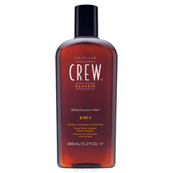 American Crew 3-in-1 Shampoo, Conditioner, and Body Wash