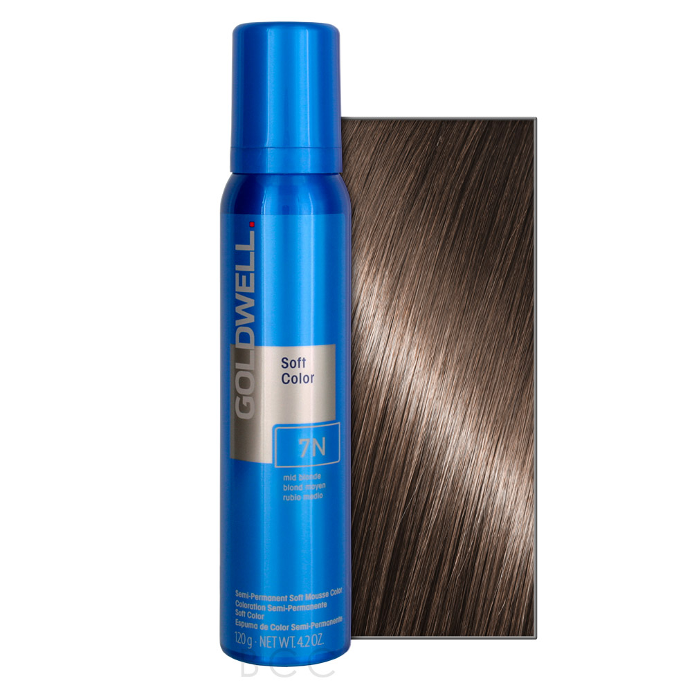 Goldwell Soft Color 4 2 Oz 7n Mid Blonde Beauty Care