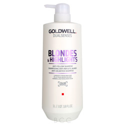 Goldwell Dualsenses Blondes & Highlights Anti-Yellow Shampoo 1 liter