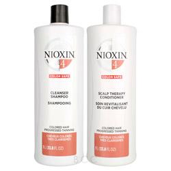 NIOXIN System 4 Liter Shampoo/Conditioner Set  2 piece