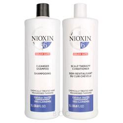 NIOXIN System 6 Liter Shampoo/Conditioner Set  2 piece