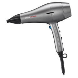Rusk PRO Speed Titanium Hair Dryer 1 piece Get long-lasting style with this hair dryer. A wet to dry, 1875 watt hair dryer that pairs power and speed together to produce fast drying mechanism and soft and shiny hair. Produces salon quality results that will have your hair craving for more!
