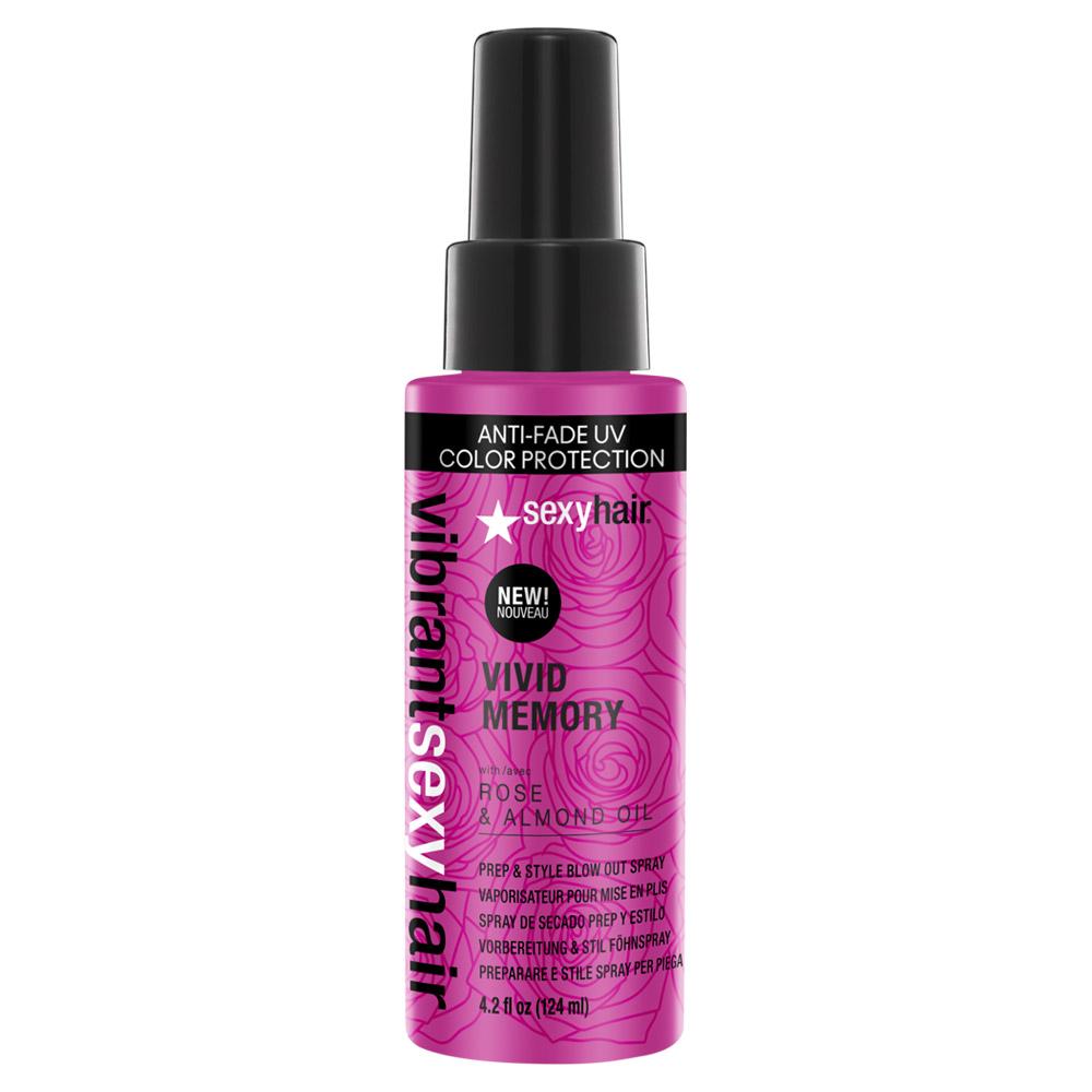 Vibrant Sexy Hair Vivid Memory Prep Style Blowout Spray 42 Oz