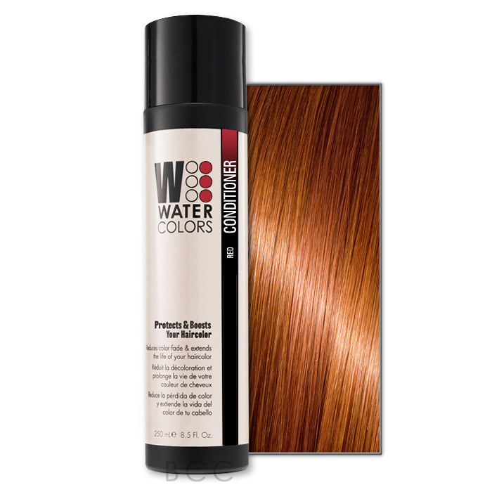 Tressa Watercolors Color Boost Conditioner 8 5 Oz Red