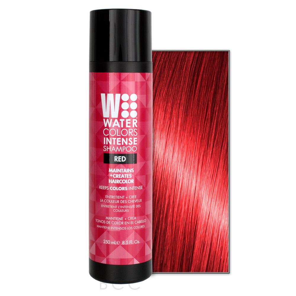 Tressa Watercolors Intense Color Shampoo 8 5 Oz Red