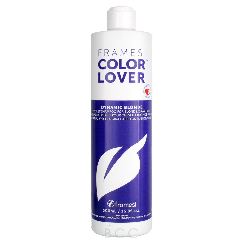 Framesi Color Lover Dynamic Blonde Violet Shampoo For