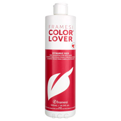 Framesi Color Lover Dynamic Red Shampoo 16.9 oz Keep that red true and shining bright with Color Lover Dynamic Red.  Your hair will love the care this shampoo takes with your color.  It will keep your fabulous red salon fresh 90% longer than ordinary shampoos.  Plus it's gluten, paraben, DEA and sulfate free.