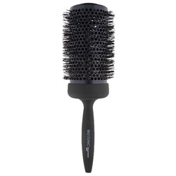 Bio Ionic Graphene MX Thermal Styling Brush 2.5 inches Style your hair with ease when blow drying with this styling brush. A styling brush designed with a graphene MX infused barrel that quickly and evenly conducts heat when used with a blow dryer. Its air vents provide increased air flow for faster styling and it has a soft touch ergonomic handle for comfort and ease. Leaves hair smoother and healthier with no frizz!