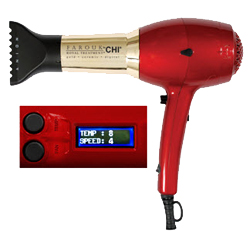 CHI Farouk Royal Treatment Gold Ceramic Digital Hair Dryer