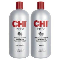 CHI Infra Liter Shampoo/Conditioner Set 2 piece