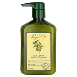 CHI Olive Organics Hair & Body Shampoo-Body Wash 11.5 oz
