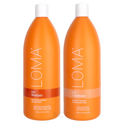 Loma Daily Collection Liter Shampoo/Conditioner Set 2 piece