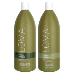 Loma Nourishing Liter Shampoo/Conditioner Set 2 piece
