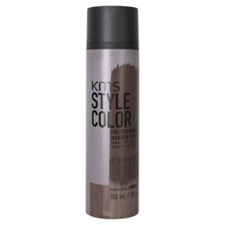 KMS Style Color Spray on Color Frosted Brown Experiment color without the commitment with the Style Color Spray On Color. A waterproof color spray that delivers rich color pigment onto the hair. Builds an ultra-thin film of color to give your hair mobility and flexibility without the crunch. Gives you the ability to work with color without having to go all in. Works perfectly with hot tools and is pillow-friendly.