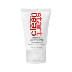 Clean Start Clean Start Welcome Matte SPF 15