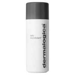 Dermalogica Daily Microfoliant 2.6 oz Instantly leave your skin noticeably smoother and *brighter! This unique, Rice-based enzyme powder activates upon contact with water, releasing Papain, Salicylic Acid and Rice Enzymes to smooth the skin and accelerate cell renewal. Our unique Skin Brightening Complex of Bearberry, Aspergillus, Grapefruit and Licorice helps to balance uneven skin pigmentation. Active agents derived from Rice Bran and Rice Extract help to regulate melanin production while micro-exfoliating dead cells. A super-soothing blend of Green Tea, Ginkgo and Colloidal Oatmeal calms inflammation, leaving the skin extraordinarily clear and refreshed. ~ Gentle enough to use on a daily basis. Fragrance free. Professional recommendation advised.