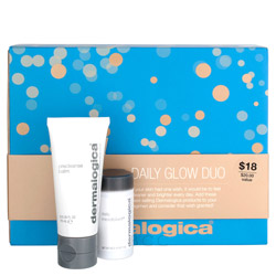 Give your skin a sensational glow with this daily glow duo kit. Comes with Dermalogica's  PreCleanse Balm and Daily Microfoliant to deeply cleanse the skin. The PreCleanse Balm removes impurities, make-up and any debris lingering on the skin and the Daily Microfoliant exfoliates the skin to remove dead skin cells for a smooth and brighter appearance. Both work great to achieve. brighter, cleaner skin! Great duo kit for traveling.