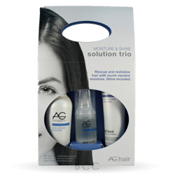 AG Hair Cosmetics Moisture & Shine Solution Trio