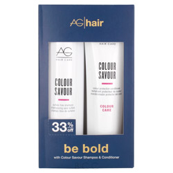 AG Hair Colour Savour Shampoo & Conditioner Duo