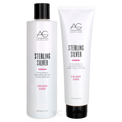 AG Hair Sterling Silver Shampoo & Conditioner Duo