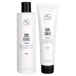 AG Hair Curl Revive/Thrive Shampoo & Conditioner Duo