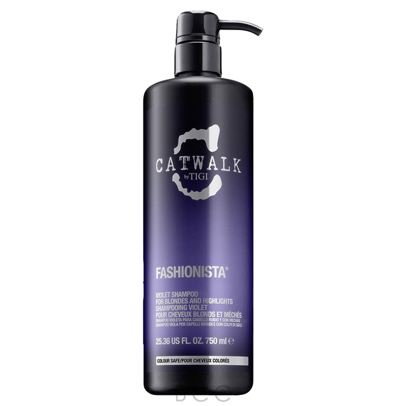 Tigi Catwalk Fashionista Violet Shampoo 25 36 Oz Beauty
