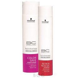 Schwarzkopf BC Bonacure Repair Rescue Duo w/ Emergency Kit