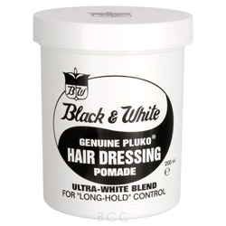 Zerran Black & White - Genuine Pluko Hair Dressing Pomade